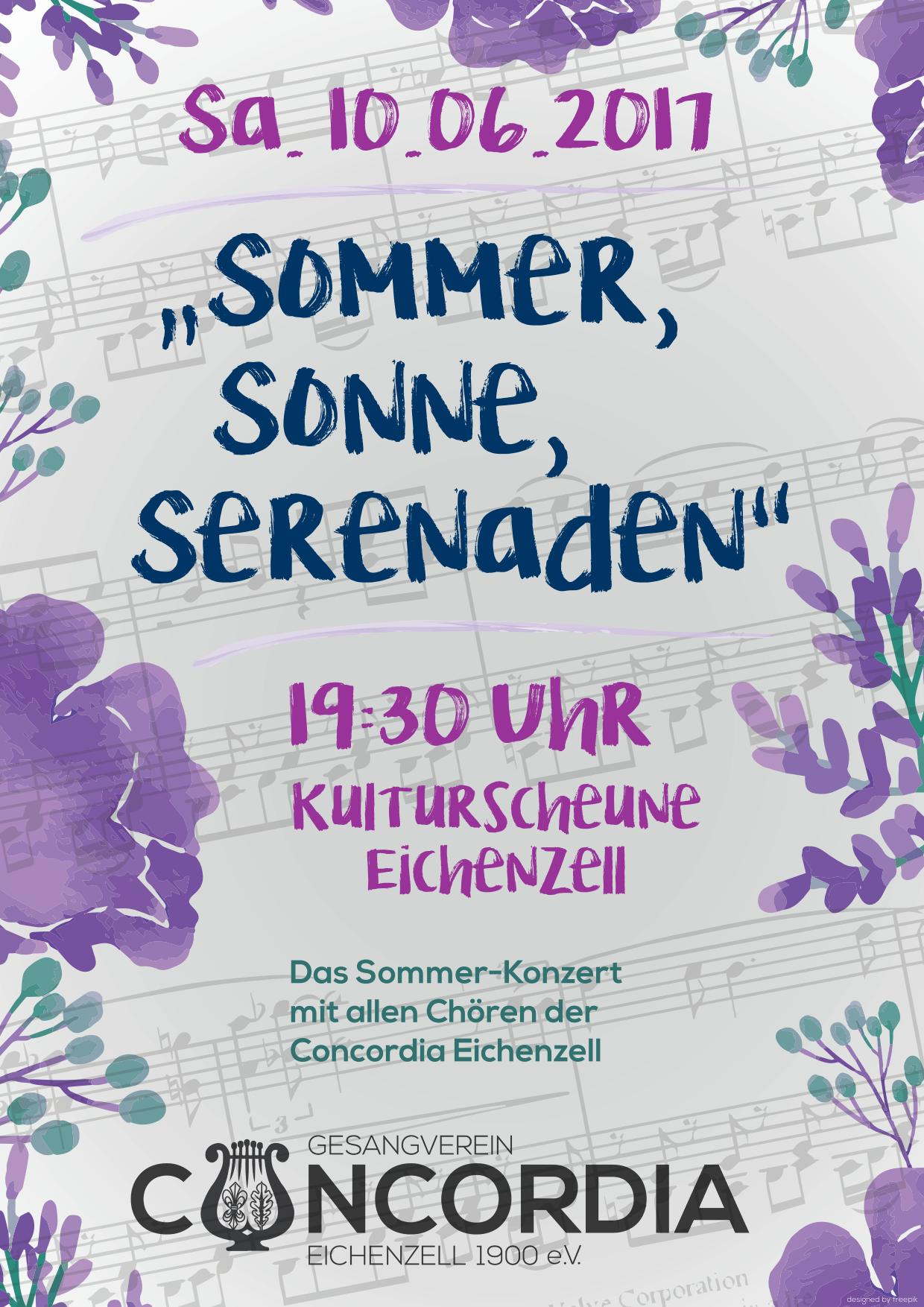 Sommer, Sonne, Serenaden